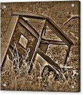 Rusting Away Acrylic Print