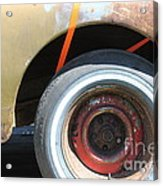 Rusty 1941 Chevrolet . 5d16212 Acrylic Print by Wingsdomain Art and Photography