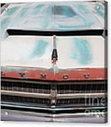Rusty 1965 Plymouth Satellite . 5d16632 Acrylic Print by Wingsdomain Art and Photography