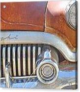 Rusty Abandoned Old Buick Eight Acrylic Print