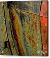 Rusty Abstract Acrylic Print