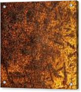 Rusty Background Acrylic Print