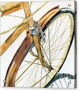 Rusty Beach Bike Acrylic Print by Norma Gafford