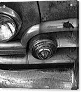 Rusty Cadillac Detail Acrylic Print