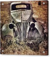 Rusty Car  Acrylic Print