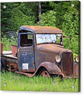 Rusty Chevy Acrylic Print