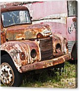 Rusty Commer  Acrylic Print by David Lade