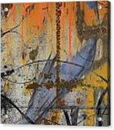 Rusty Crow  Acrylic Print