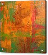 Rusty Hue Acrylic Print