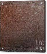 Rusty Iron Acrylic Print