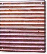 Rusty Metal Acrylic Print