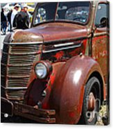Rusty Old 1935 International Truck . 7d15497 Acrylic Print by Wingsdomain Art and Photography