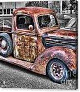 Rusty Old Truck  Acrylic Print
