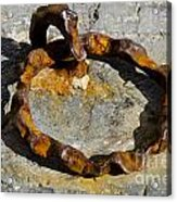 Rusty Ring Acrylic Print