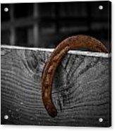 Rusty Shoe Acrylic Print
