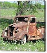 Rusty Truck Acrylic Print