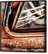 Rusty Viewpoint Acrylic Print