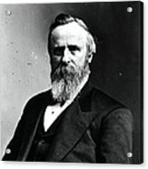 Rutherford B. Hayes, 19th American Acrylic Print by Photo Researchers