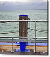 Ryde On The Solent Wharf Acrylic Print