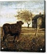 Ryder: The Pasture, C1875 Acrylic Print