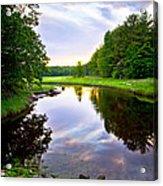 Rye Reflections Acrylic Print