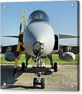 Saab Jas39d Gripen Acrylic Print