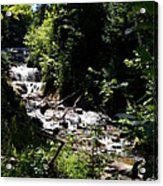 Sable Falls Grand Marais Mi Acrylic Print
