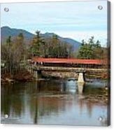 Saco River Covered Bridge Acrylic Print