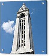 Sacre Coeur Bell Tower I Acrylic Print
