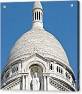 Sacre Coeur Dome Acrylic Print