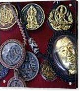 Sacred Amulets Acrylic Print