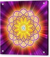 Sacred Geometry 110 Acrylic Print
