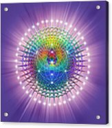 Sacred Geometry 114 Acrylic Print