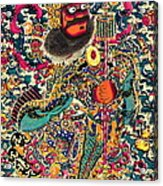 Sacred Warrior Camouflage 1840 Acrylic Print