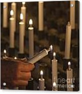 Sacrificial Candles 3 Acrylic Print