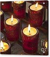 Sacrificial Candles Acrylic Print