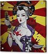 Sacrificial Geisha Acrylic Print