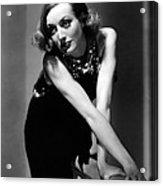 Sadie Mckee, Joan Crawford, 1934 Acrylic Print