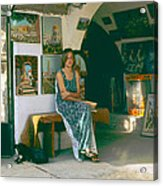 Safed Art Gallery Acrylic Print