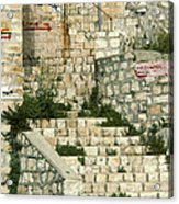 Safed Galilee Israel Acrylic Print