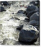 Safely Through The Boulders Acrylic Print