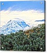 Sage Mountain Acrylic Print