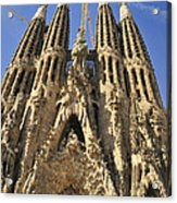 Sagrada Familia Barcelona Spain Acrylic Print