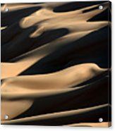 Sahara Sand Shadows Acrylic Print by Joe & Clair Carnegie / Libyan Soup