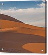 Sahara Sanddunes Acrylic Print