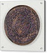 Sahasrara Crown Chakra Plate Acrylic Print