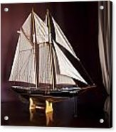 Sail Boat Acrylic Print by Miguel Capelo