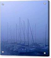 Sailboat Blues Acrylic Print