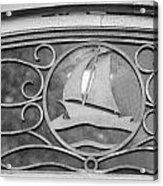 Sailboat On The Boathouse Acrylic Print