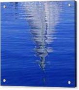 Sailboat On Water Acrylic Print